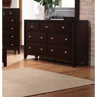 Barfield 7 Drawer Double Dresser by Charlton Home Comparison