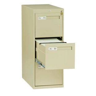 Tennsco Corp. 3 Drawer Vertical Letter Size File Cabinet