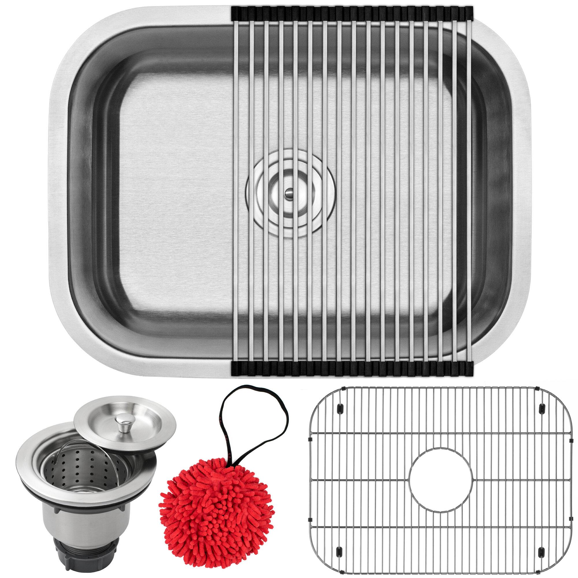 Phoenix Foster Series Stainless Steel 23 L X 18 W Undermount Kitchen Sink With Accessories Wayfair