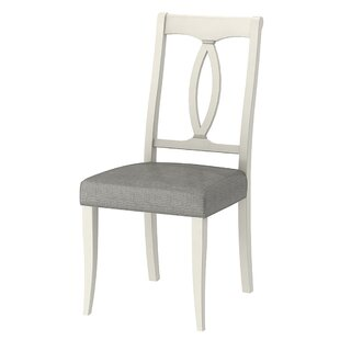 Lattimore Solid Wood Dining Chair (Set of 2) by Rosecliff Heights