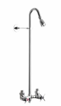 Wall Mount Hot and Cold Shower Head Outdoor Shower Company