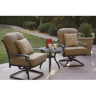 Calhoun 3 Piece Conversation Set with Cushions