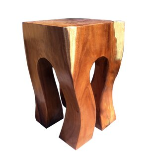 Rock Out Accent Stool by Asian Art Imports