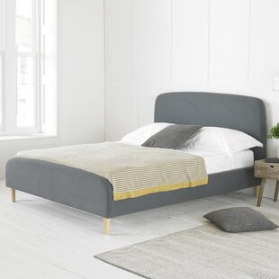 Review Maxen Upholstered Bed Frame