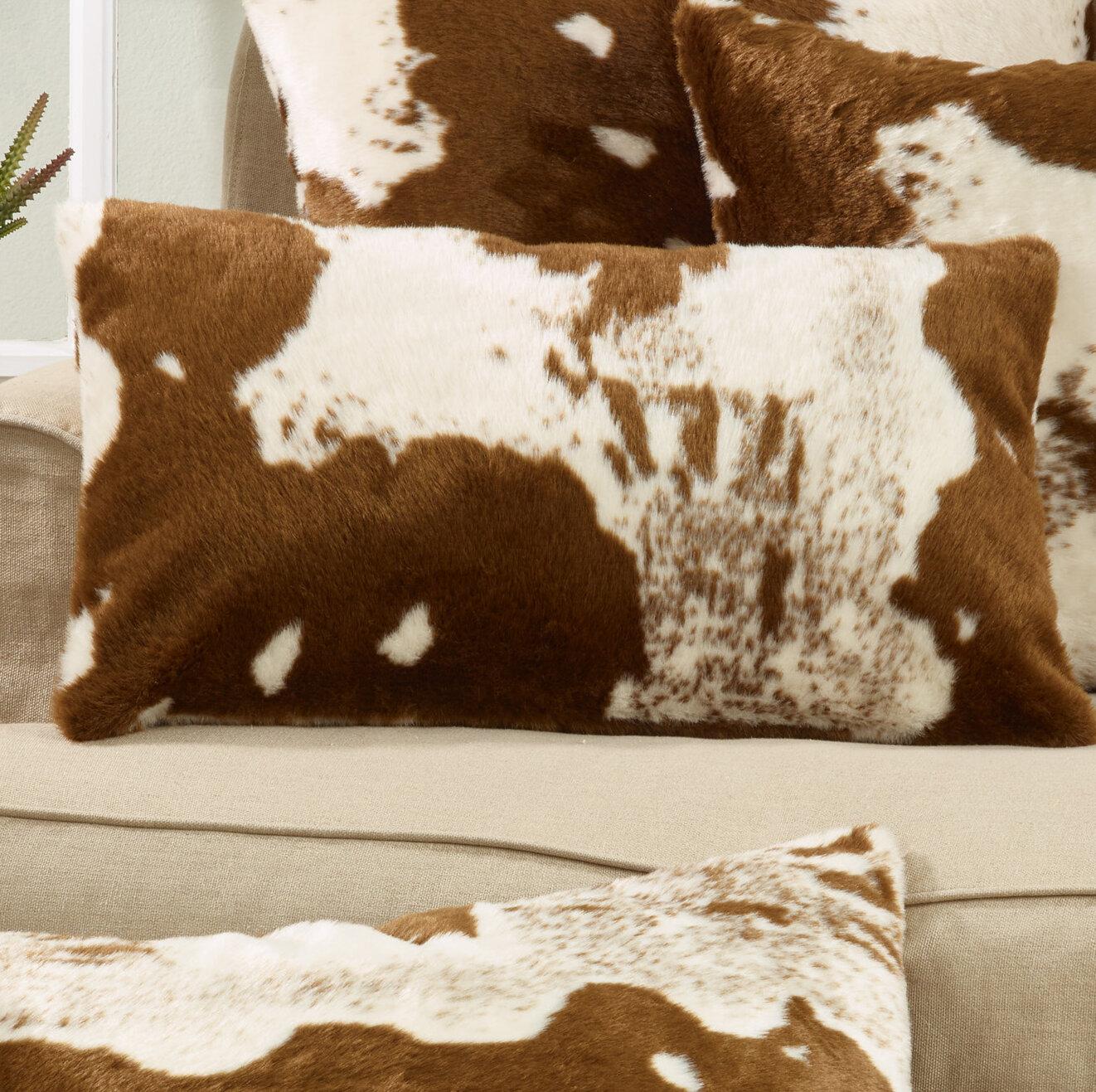 Animal Print Cowhide Throw Pillows You Ll Love In 2021 Wayfair