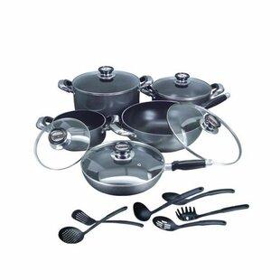 16 Piece Complete Nonstick Cookware Set