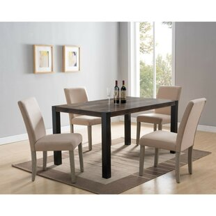 Nailwell Solid Wood Dining Table Winston Porter