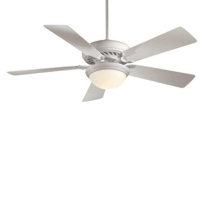 Minka aire 52 supra 5 blade led ceiling fan reviews wayfair 52 supra 5 blade led ceiling fan aloadofball Images