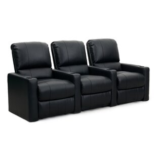 Contemporary Home Theatre Lounger (Row of 3) by Latitude Run
