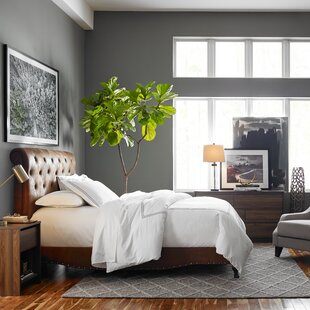 Micky Upholstered Panel Bed