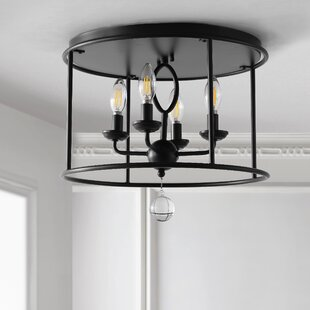 Reidy 4-Light Flush Mount by Gracie Oaks