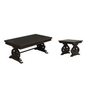 One Allium Way Albro 2 Piece Coffee Table Set