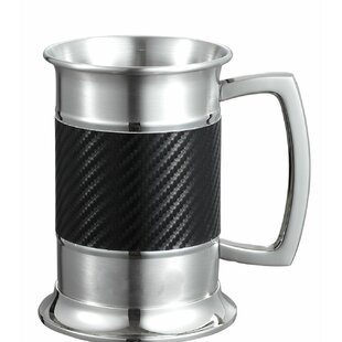 Matrix Carbon Beer Glass 16 oz. Stainless Steel