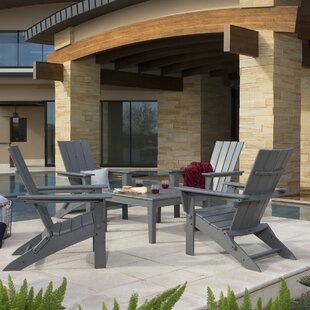 POLYWOOD® Quattro 5 Piece Dining Set