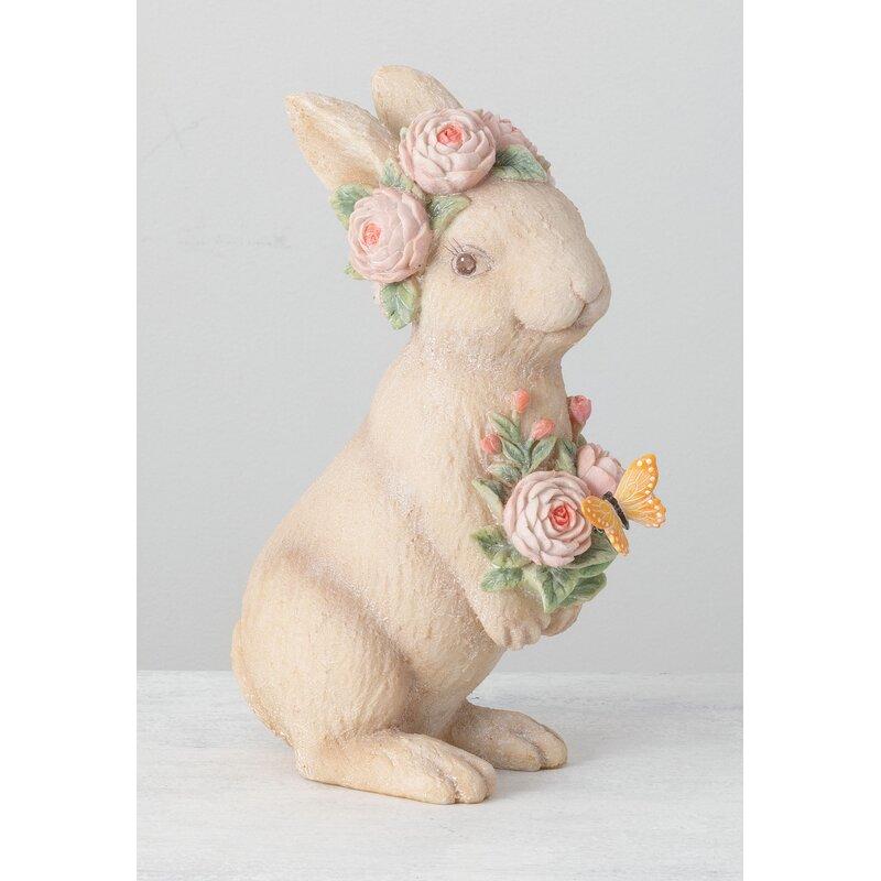 Ophelia Co Weybridge Standing Bunny Figurine Wayfair