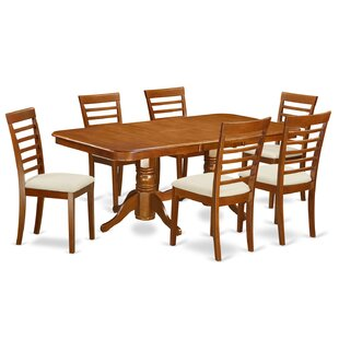 Pillsbury Modern 7 Piece Dining Set by Au..
