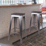 Spann Backless Metal 30 Bar Stool (Set of 4) by Williston Forge