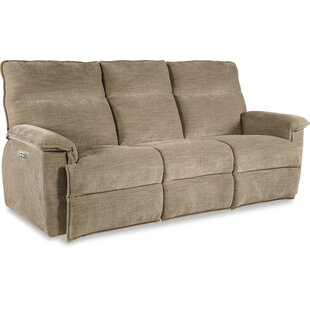 Jay La-Z-Time® Power-Recline with Power Headrest Full Reclining Sofa by La-Z-Boy