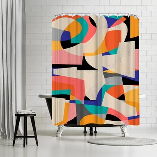 Susana Paz Colorshot Iii Single Shower Curtain