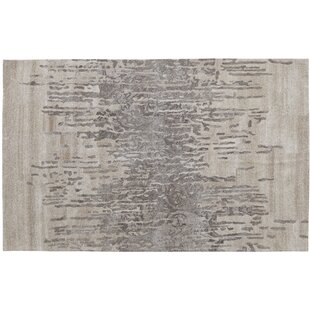 Saoirse Hand-Tufted Black/Gray Area Rug By 17 Stories