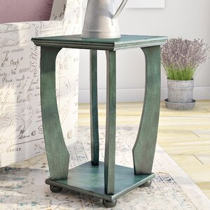 Stephane End Table by Lark Man..