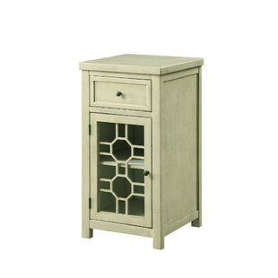 Eulalie End Table with Storage by Rosecliff Heights