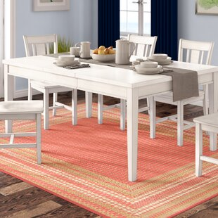 Silver Springs Extendable Dining Table by Beachcrest Home