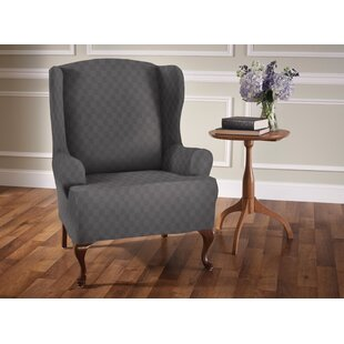 wayfair chair slipcover stripe save wingback for t cushion love furniture stretch wing slipcovers you ll