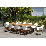 Alshain 11 Piece Teak Dining Set