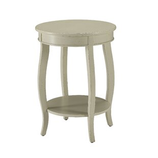 Boulanger End Table with Storage by Charlton Home