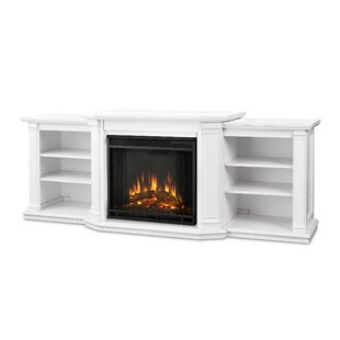 Buy luxury Valmont TV Stand for TVs up to 70 with Fireplace by Real Flame Reviews (2019) & Buyer's Guide