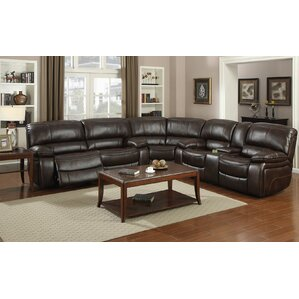 Red Barrel Studio Jayce Reversible Reclining Sectional Image