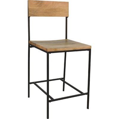 Full Back Industrial Counter Height Bar Stools You Ll Love
