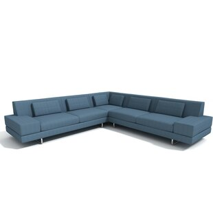 Affordable Price Hamlin Sectional by TrueModern Reviews (2019) & Buyer's Guide