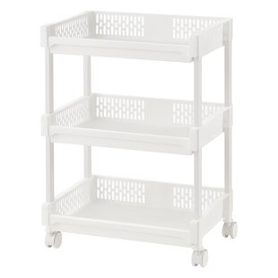 Lesly Kitchen Trolley With Plastic Top By Symple Stuff