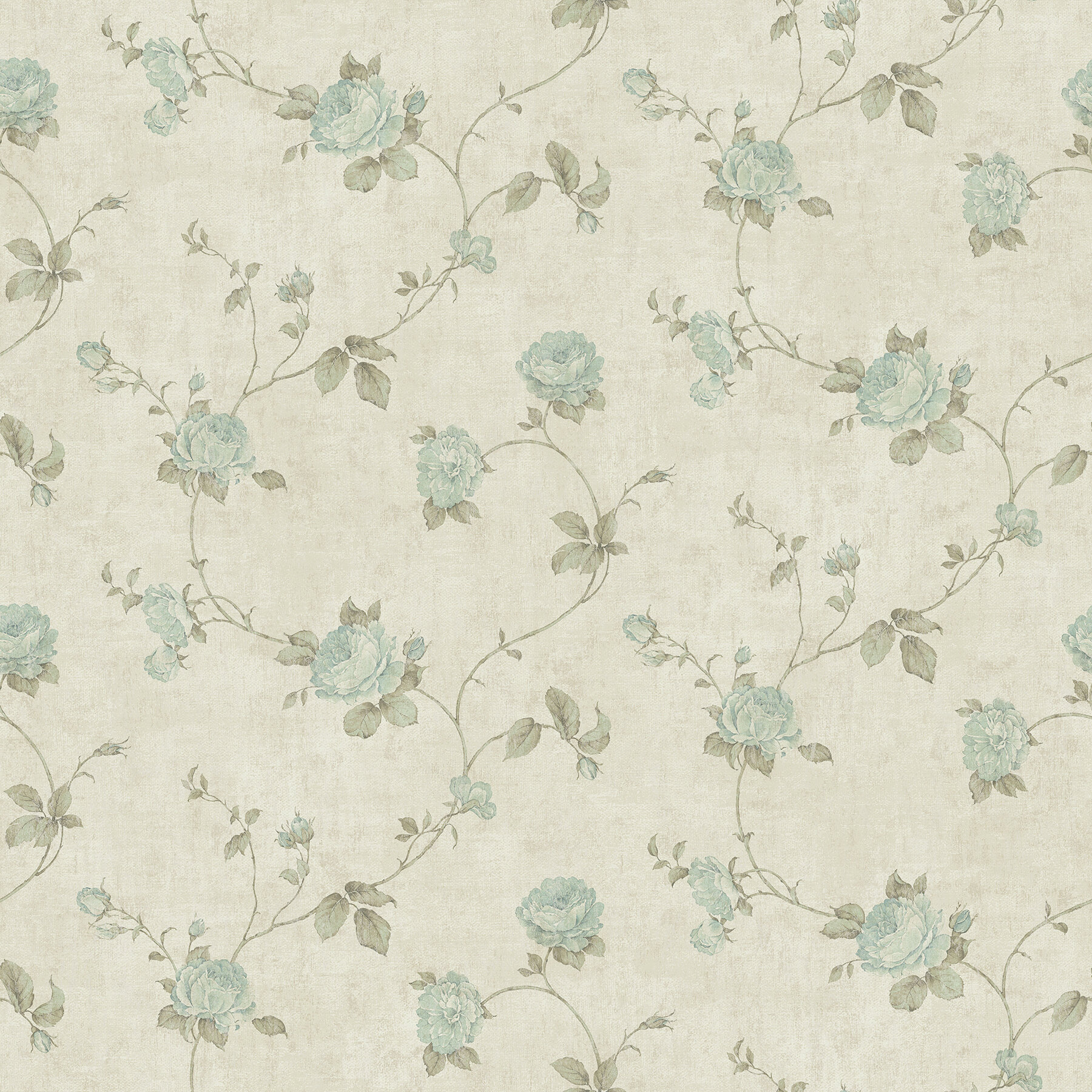 Brewster Home Fashions The Cottage Darby 33 X 20 5 Floral