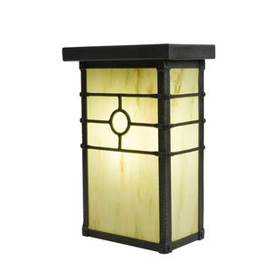 Look for Historic California 1-Light Outdoor Flush Mount By Steel Partners