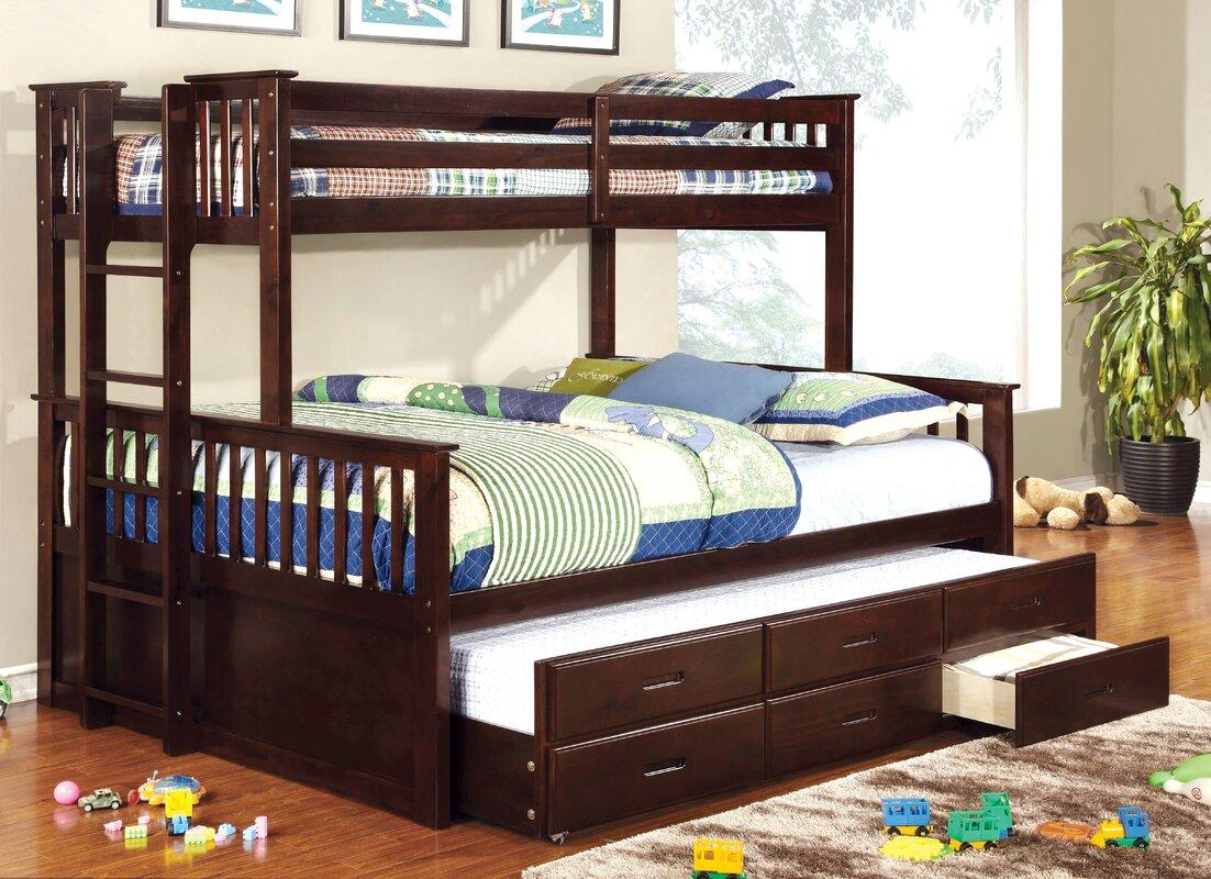 Sandra Twin Over Queen Bunk Bed & Reviews   AllModern