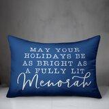 Hanukkah Quotes Sayings Throw Pillows You Ll Love In 2021 Wayfair