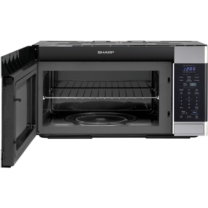 Sharp Stainless Steel 30 1 8 Cu Ft