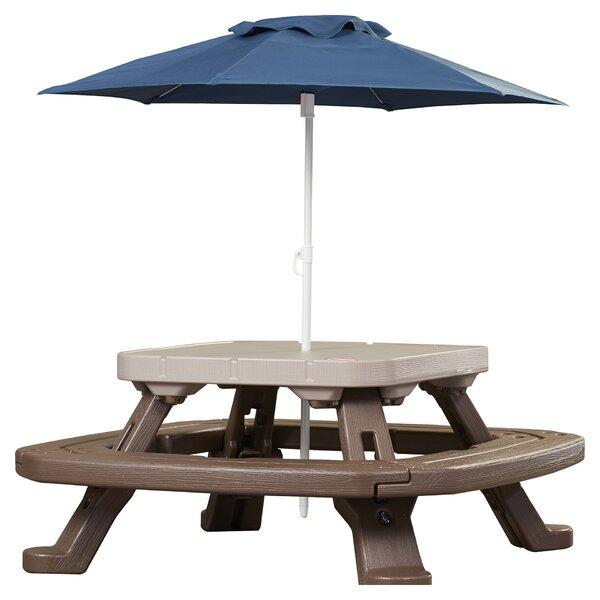 Attractive Little Tikes Endless Adventures Fold U0027n Store Umbrella Picnic Table U0026  Reviews   Wayfair