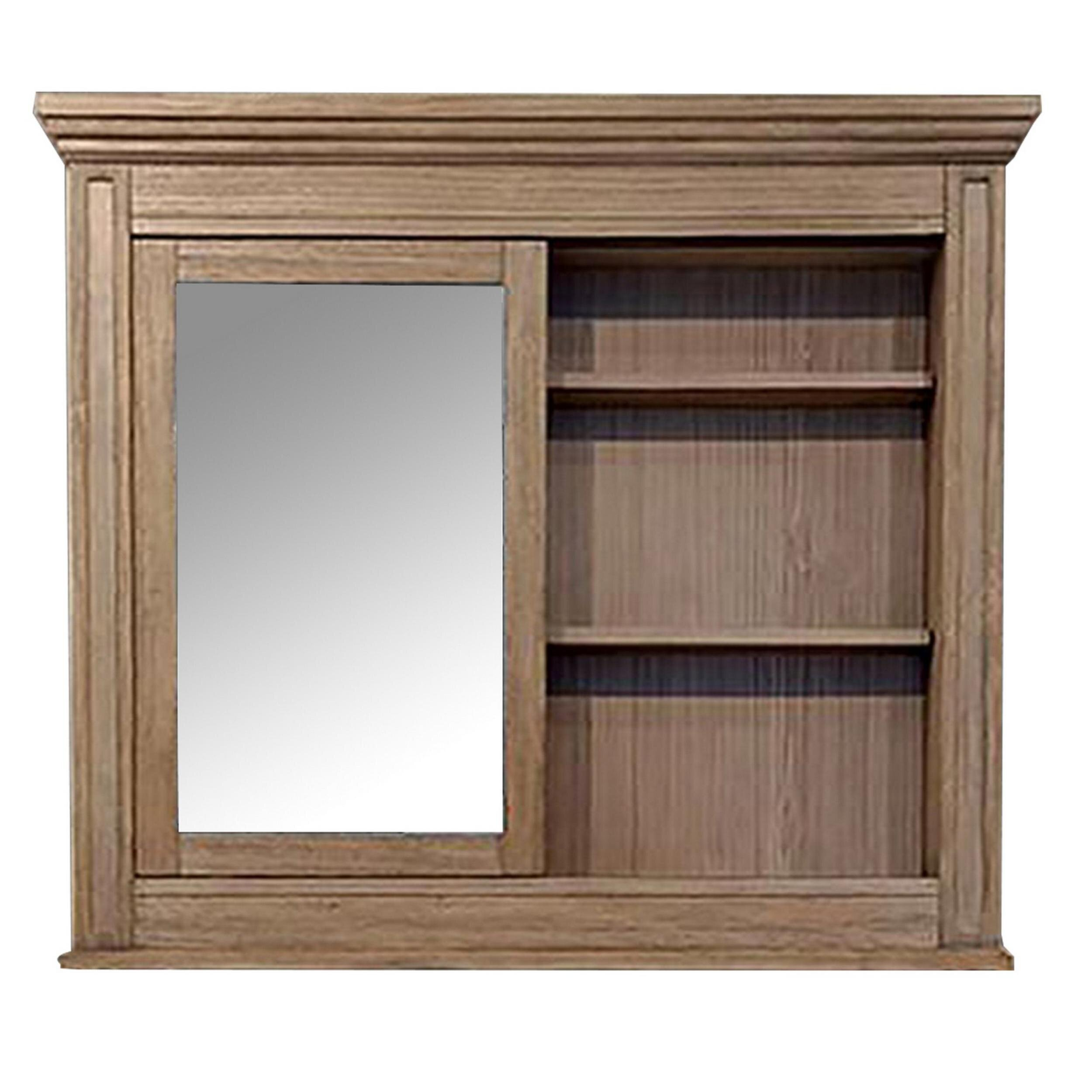 Rosalind Wheeler Hartlyn Beveled Magnifying Cabinet Mirror Wayfair