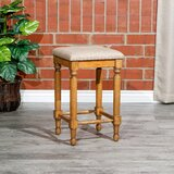 "Charlton Home Emerald Lake Backless Stool, 24"" Counter Height by Charlton Home®"