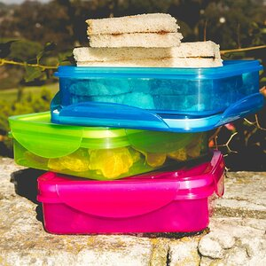Meal Prepare Lunch 3 Container Food Storage Set (Set of 3)