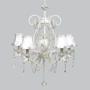 Jubilee Collection Grace 5-Light Shaded Chandelier