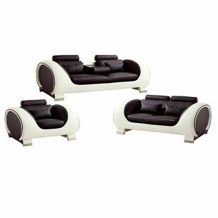 Krupa 3 Piece Living Room Set By Orren Ellis