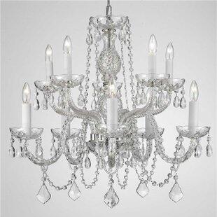 Astoria Grand Loeffler 10-Light Candle St..