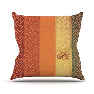 Lost Outdoor Throw Pillow by KESS InHouse