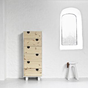 House 6 Drawer Chest Of Drawers By Karup Design