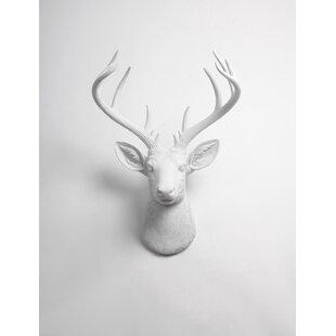 Faux Deer Head Wall Décor